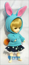 Lati Yellow Doll Outfit Blue Tee Hoody