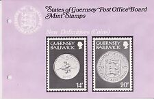 GUERNSEY PRESENTATION PACK 1979 NEW DEFINITIVES COINS 9p-20p 10% OFF ANY 5+