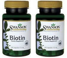 2 x Hair Skin Nails Beauty Vitamin! Biotin hair growth REGROWTH pIll 5,000 mcg