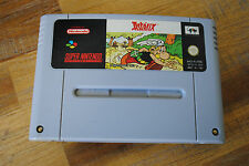 Jeu ASTERIX pour Super Nintendo SNES version PAL
