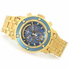 @NEW Invicta Reserve 52mm Specialty Subaqua Swiss Made Quartz Gold Tone 90113