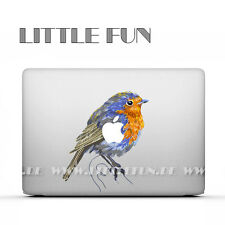 "Macbook Aufkleber color Sticker Skin Decal Macbook Pro 13"" 15"" Air 13"" Bird C12"