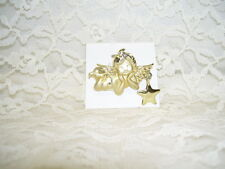 PIXIE ANGEL W/ STAR GOLD PIN BY AIG