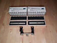 Microtech Gefell Matched Pair M200 Studio Condenser Microphones (SMS 2000)