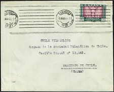 1691 SPAIN TO CHILE COVER 1946 ZARAGOZA - SANTIAGO