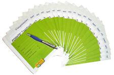 Weight Watchers 20x Sattmacher Points Tagebücher / Tagebuch Liste / Journal *NEU