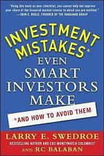 Investment Mistakes Even Smart Investors Make and How to Avoid Them, Balaban, RC