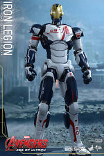 "Hot Toys Iron Man Iron Legion Avengers Age Ultron Sixth Scale 12"" Figure MMS299"