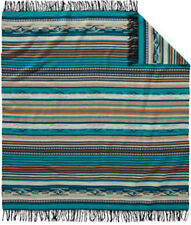 Pendleton Chimayo Throw Blanket Turquoise New with Tags