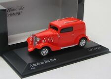 American Hot Rod / rot / Minichamps 1:43
