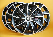 "PEUGEOT ,407,307,308...etc. ,16"" WHEEL TRIMS/COVERS,HUB CAPS,Quantity 4"