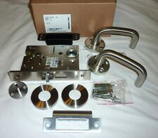 Falcon MA571L SG 630 Commercial Dormitory Exit Mortise Lock Grade 1 STAINLESS