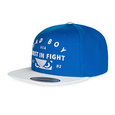 Bad Boy First In Fight Cap - Blue - Snap Back Baseball Cap