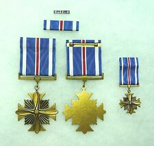 US Agency, Department of Defense Distinguished Flying Cross, set of 4