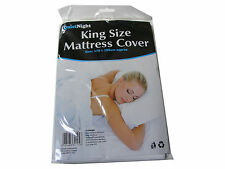 WATERPROOF KING SIZE  MATTRESS COVER BED COVER MATTRESS PROTECTOR WASHABLE