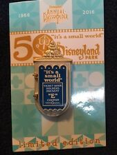 "Disney ""it's a small world"" 50th Anniversary Annual Passholder Exclusive Pin LE"