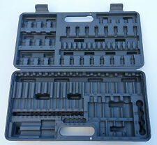 "NEW Blue Point 87 piece 1/2"" 3/8"" 1/4"" Torx / Hex socket set tool box carry case"