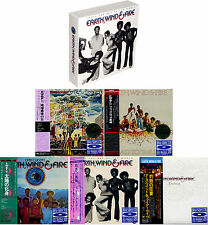 Earth Wind & Fire that's the way... JAPAN MINI LP 6 BLU-spec CD (5 titles) BOX