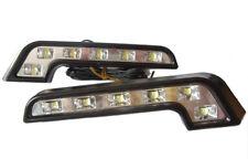 L Shape DRL High Power LED Lights Lighting Lamp Part Fiat Multipla Stilo Ulysse