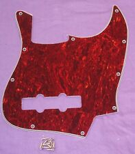 SCRATCHPLATE FOR FENDER JAZZ BASS / FAUX TORTOISE SHELL