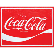 "ENJOY COCA COLA Classic Art 12x16"" canvas Wall Art Wood Frame Home Decor"