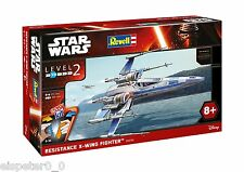 Star Wars (VII) Resistance X-wing Fighter, Revell Kit construcción 06696