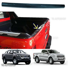 Matte Black Back Line Tailgate Cover Fit Ford Ranger Mk2 PX2 Wildtrak 2016 2017