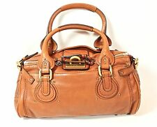BRAND NEW CHLOE PADDINGTON BROWN WOMENS HANDBAG EX-DISPLAY