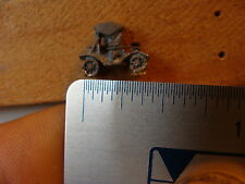 Vintage miniature LEAD figure: HORSELESS CARRIAGE / EARLY AUTOMOBILE