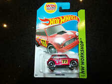 Hot wheels HW WORKSHOP Morris Mini red 194/250 Long card #6