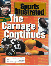 SPORTS ILLUSTRATED - FEATURING NFL INJURIES  FROM DECEMBER 7, 1992