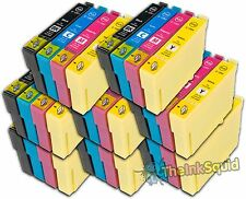 8 Sets  Compatible T1285 Ink (32 Cartridges) Epson Stylus S22 (Non-oem)