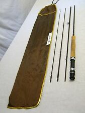 White River Dogwood Canyon TRAVEL Fly Rod Fishing Pole 4 Piece 9' DC8984 w Case