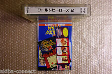 World Heroes 2 Neo Geo MVS SNK Original Japanese Version