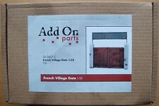 ADD ON PARTS French Village Gate NEU!! 1:35  TOP!!