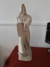 "1980 Austin Prod Inc ""Moses with Ten Commandaments"" David Fisher Terracotta"