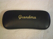 GRANDMA 2 new metal glasses #1 case ideal for birthdays Christmas great gift!!