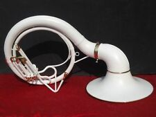 "SOUSAPHONE TUBA_WHITE COLORED 25'' BELL_BB PITCH ""W/BAG&MP BRASSITEM"