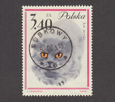 USED POLAND #1224 WITH 1973 SUBKOWY SOCKED ON NOSE (SON) CANCEL