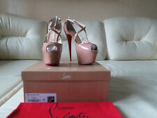NEW Christian Louboutin Exagona 160 Pumps 42 11.5 11 Daffodile Daf Highness