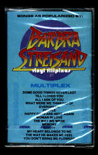 PHILIPPINES:Songs Popularized By BARBRA STREISAND,Cassette,Tape,MC,MULTIPLEX