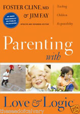 Parenting With Love And Logic by Foster Cline, Jim F...NEW