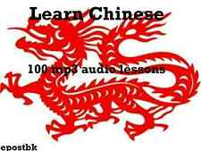 Learn Chinese 100 Lessons Audio Book MP3 CD iPod Friendly Chinese Language disc