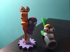 DISNEY HTF HANDY MANNY TOOL  CAKE TOPPER FIGURES TURNER SQUEEZE & RUSTY