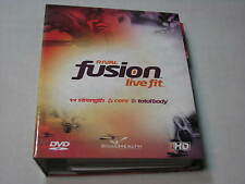 Rival Fusion Live Fit DVD Exercise Workout set Strength Yoga Core Flexibility +