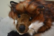 Red Fox Stuffed Plush Animal Lap Hug Ditz Designs NEW