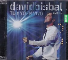 David Bisbal Tu y Yo En Vivo CD+DVD New Nuevo Sealed