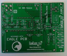 HamRadio 360 K6BEZ Antenna Analyser PCB with 2 AA143 diodes