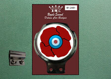 Royale Classic Car Badge & Bar Clip MOD POPPY 10% to BRITISH LEGION B1.2481
