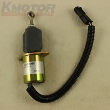 Fuel Shut Off Solenoid for Ford 5.9L 8.3L Cummins Diesel 2-1/2 bolt spacing New